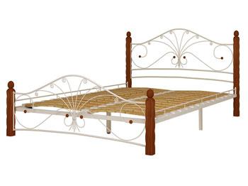 Кровать Фортуна белый махагон купить в Красноярске