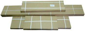 Кровать Фортуна белый махагон упаковка