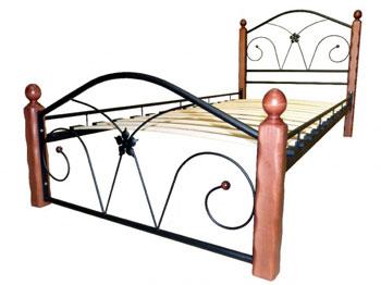 Кровать Бангкок чёрный махагон купить в Красноярске