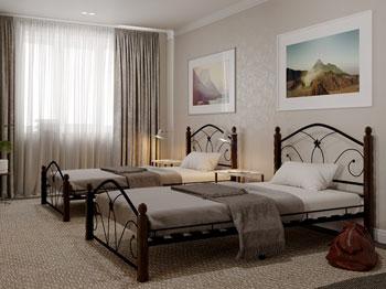 Кровать Бангкок чёрный шоколад упаковка