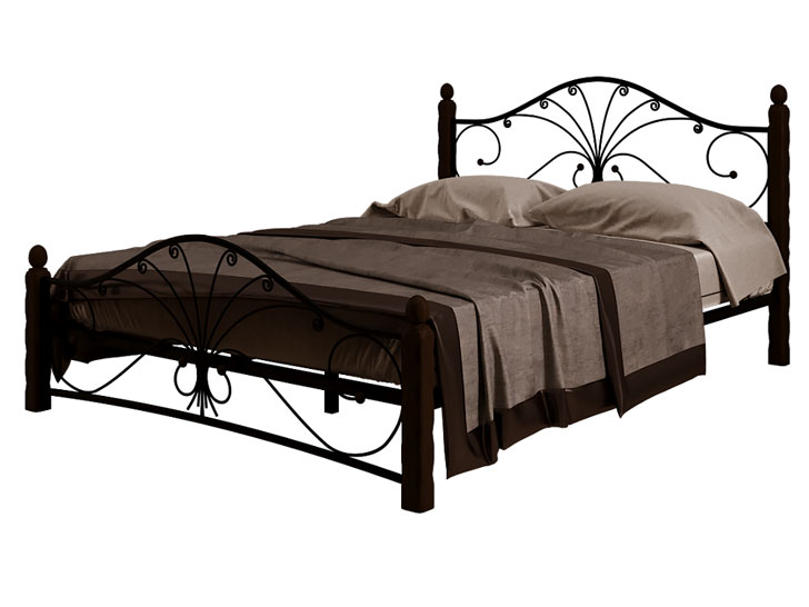Кровать Фортуна 1 чёрный шоколад купить в Красноярске